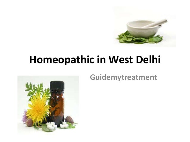 Homeopathic in West Delhi Guidemytreatment