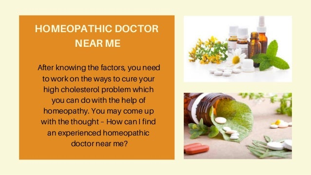 Homeopathic remedies - The solution for high cholesterol