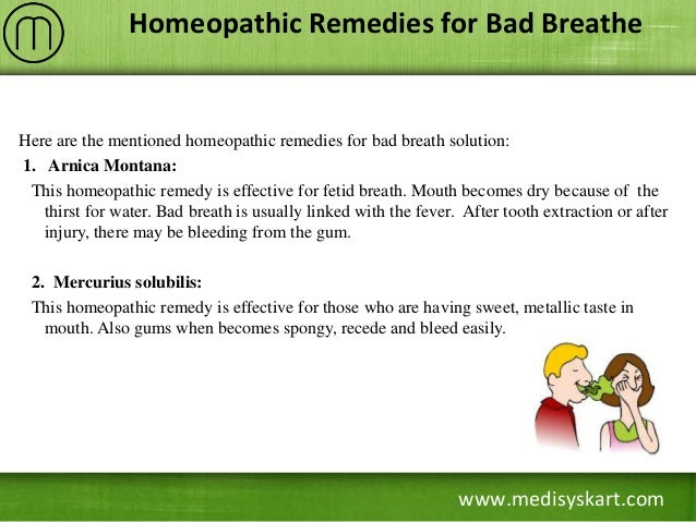 How to Get Rid of Bad Breath Once For All - Home Remedies ...