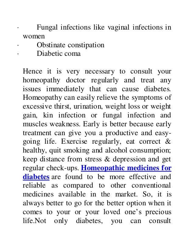 Homeopathic treatment for diabetes in mumbai
