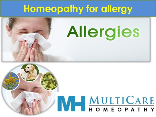 Homeopathy for allergy