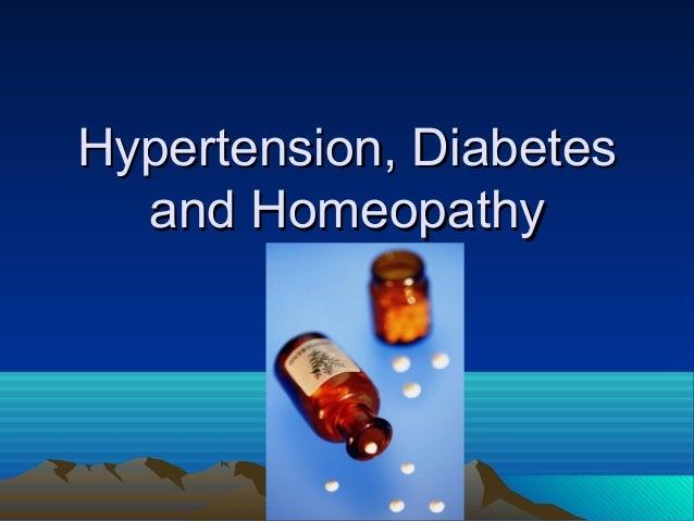 Diabetes und homöopathie