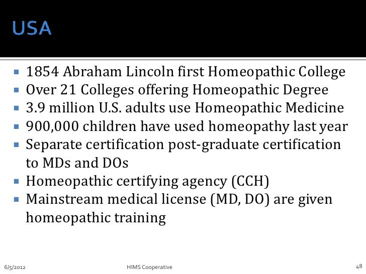 Homeopathy Introduced