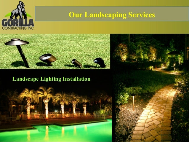 Home outdoor renovation and landscape lighting installation calgary our landscaping services landscape lighting installation aloadofball Gallery