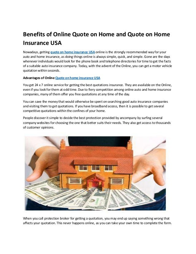 Homeowners Auto Insurance Quotes