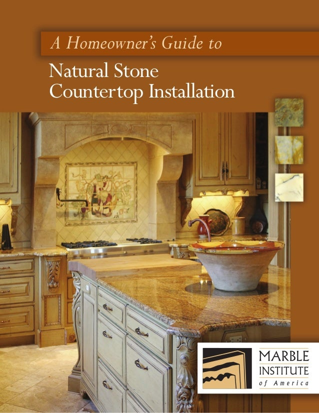 A Homeowner's Guide to Natural Stone Countertop Installation