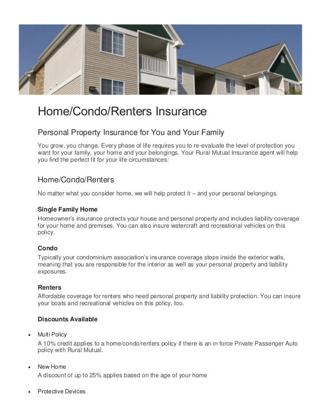 Home Renters Insurance >> Homeowners Insurance Renters Insurance Mobile Home Insurance 53581 Wi