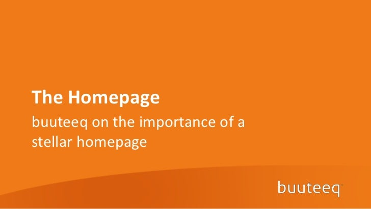 The Homepagebuuteeq on the importance of astellar homepage