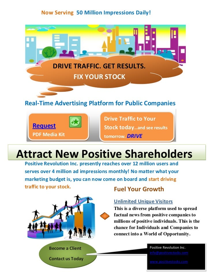 Now Serving 50 Million Impressions Daily!             DRIVE TRAFFIC. GET RESULTS.                   FIX YOUR STOCK Real-Ti...
