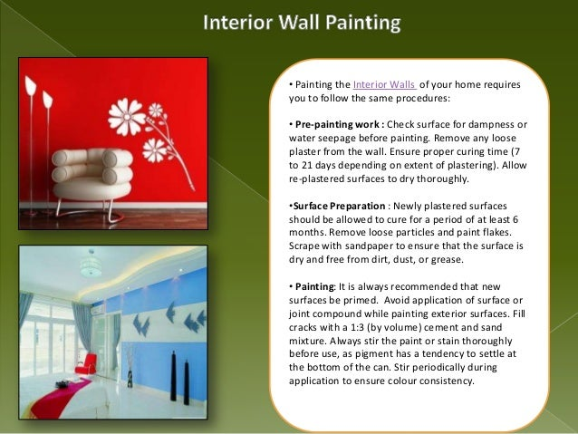home painting guide interior exterior wall painting. Black Bedroom Furniture Sets. Home Design Ideas