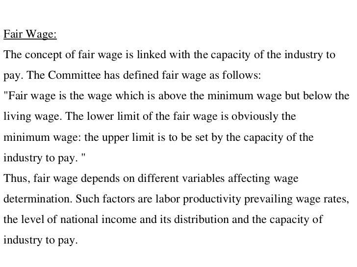 factors affecting wage determination Quizlet provides wage determination economics activities, flashcards and games start learning today for free.