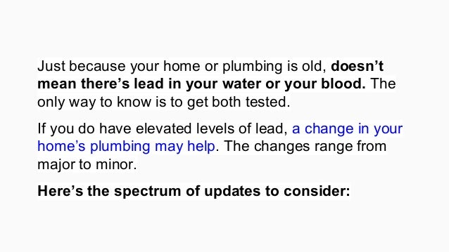 how to get your water tested for lead