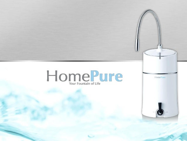 • The air we breathe • The water we drink There are two major elements in the home that can directly affect our health and...