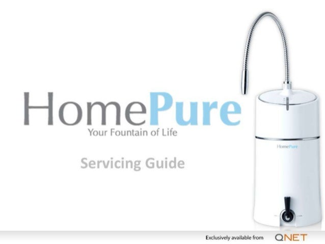 English Problem  Possible Cause(s)  Troubleshooting  Black colour or particles in the water  The HomePure water filter con...