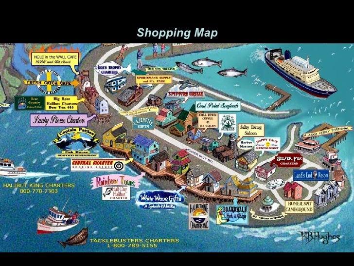 Homer Alaska Map Area.Homer Alaska
