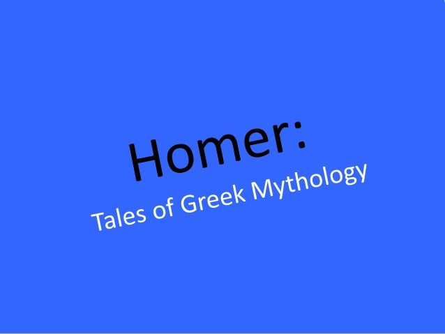 Homer's Mini Bio:-Believed to have been blind-Lived in the 700s B.C.on the island ofChios in theMediterranean,where other ...