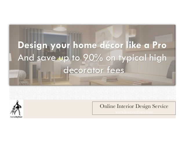 Homerefiner online interior design service available for Online architect services