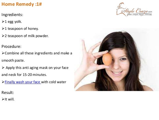 anti aging treatments at home