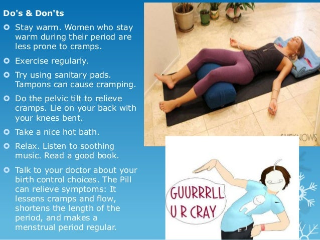 Home Remedies For Menstrual Cramps And Back Pain