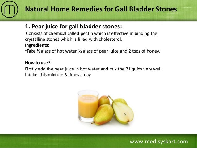 Natural Medicine For Gall Stones