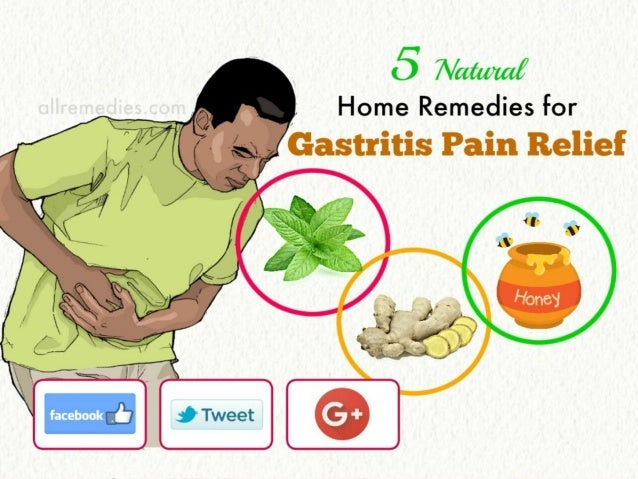 5 Amazing Home Remedies For Gastritis Pain Relief