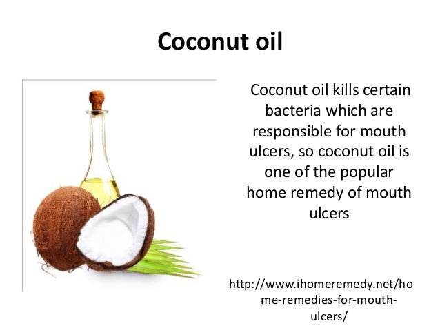 Natural Home Remedies for Mouth Ulcers- iHomeRemedy