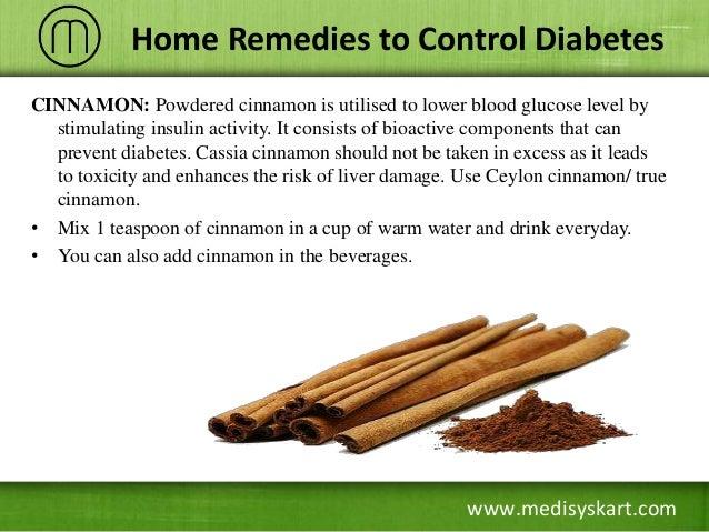 Diabetes cinnimon