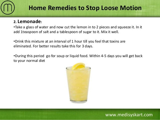 Home Remedies To Stop Loose Motion Immediately