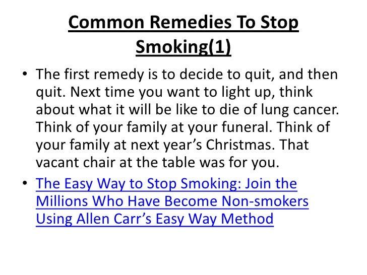 Best Natural Way To Quit Smoking