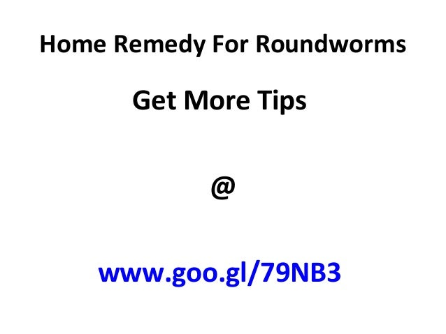 how to get rid of roundworms