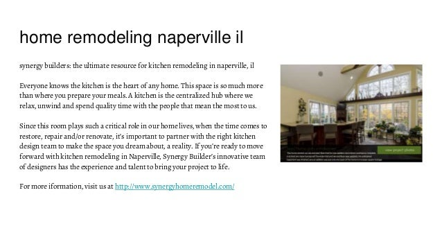 Home Remodeling Naperville Il