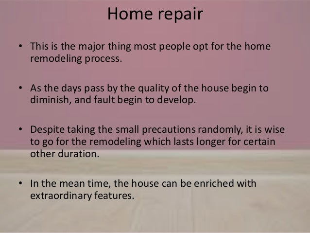 Home remodeling types and ideas Slide 3