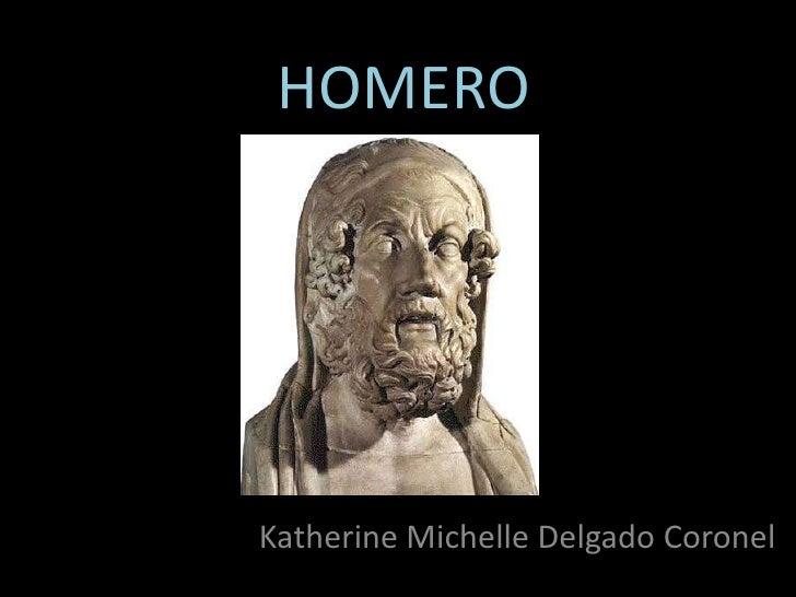 HOMEROKatherine Michelle Delgado Coronel