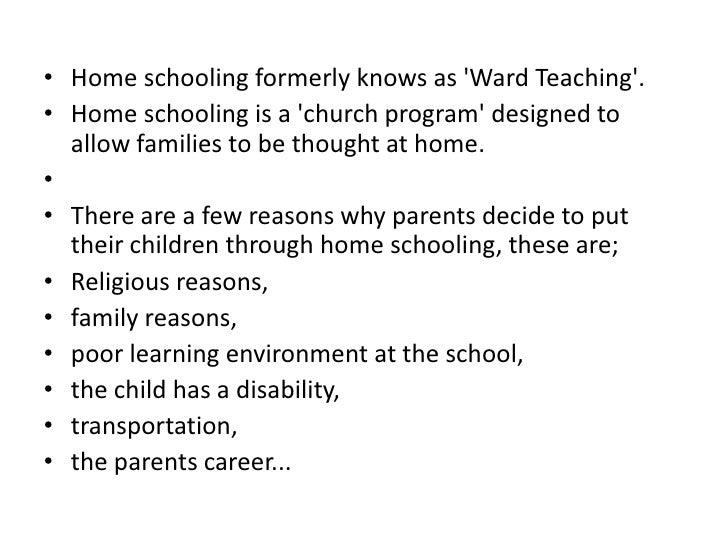 homeschooling pptx 2 bull home schooling