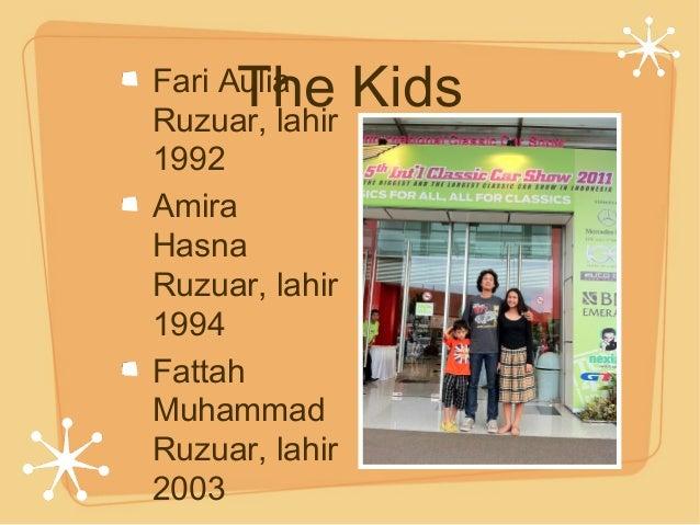 The KidsFari Aulia Ruzuar, lahir 1992 Amira Hasna Ruzuar, lahir 1994 Fattah Muhammad Ruzuar, lahir 2003