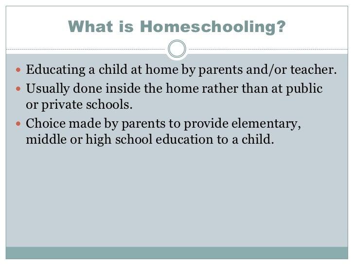 Homeschool Powerpoint