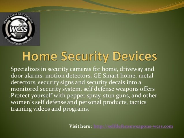 Specializes in security cameras for home, driveway and door alarms, motion detectors, GE Smart home, metal detectors, secu...
