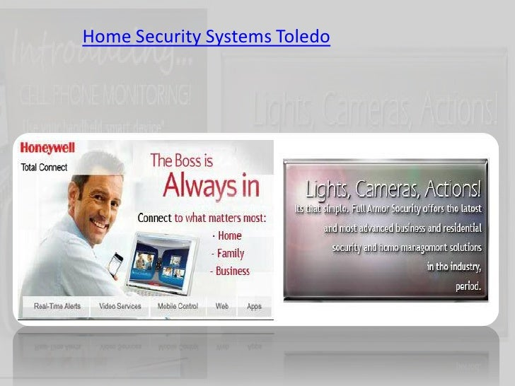 Home Security Systems Toledo