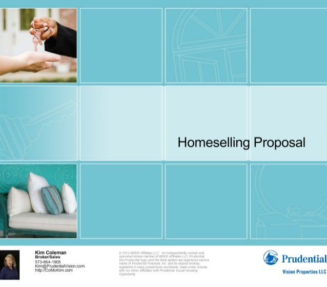 Homeselling proposalforcomokimcom