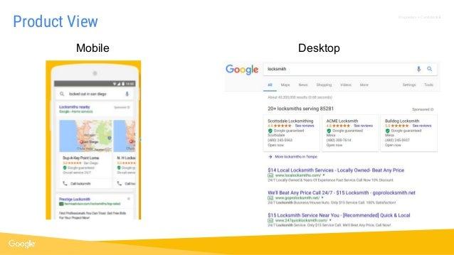 Proprietary + Confidential Product View Mobile Desktop