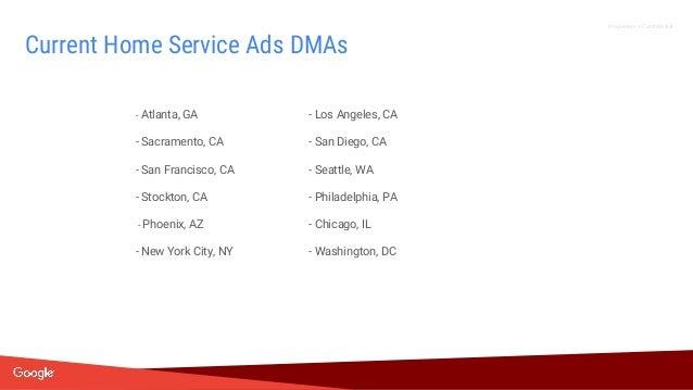 Proprietary + Confidential - Atlanta, GA - Los Angeles, CA - Sacramento, CA - San Diego, CA - San Francisco, CA - Seattle,...