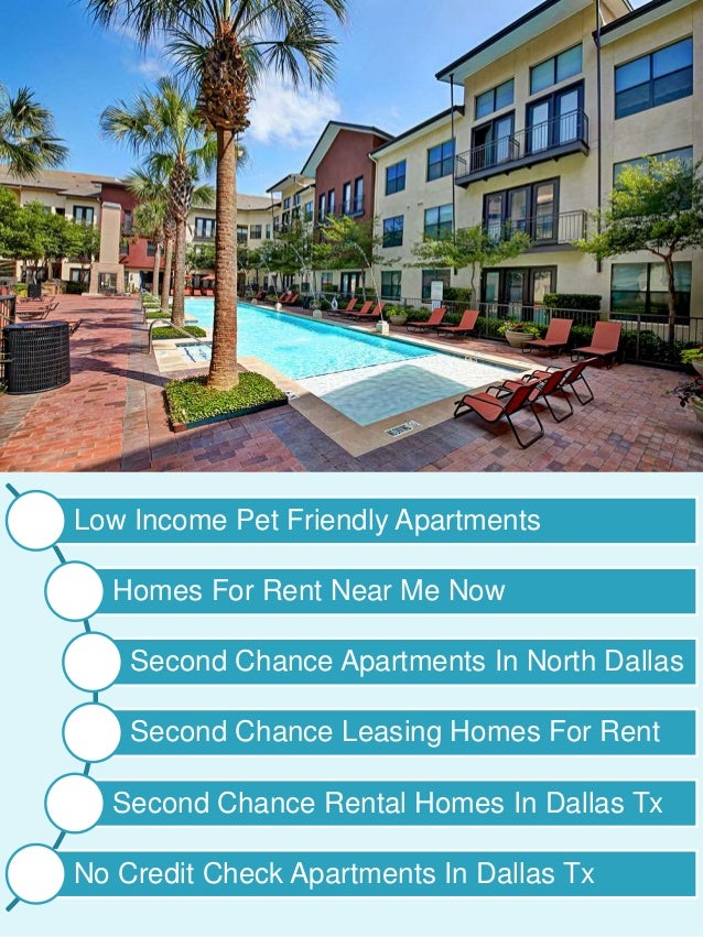 Rent Houses In Dallas Tx No Credit Check 2 Low Income Pet