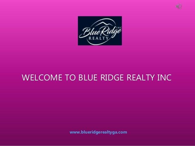 Homes & Properties for Sale in Blue Ridge Georgia - Blue
