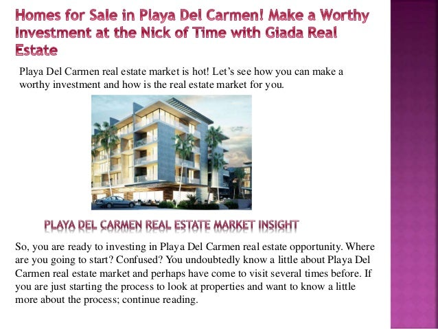 Homes for sale in Playa Del Carmen
