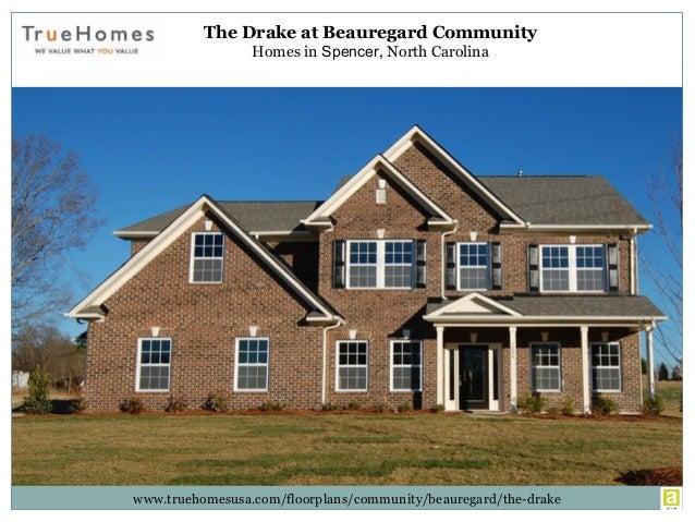 The Drake at Beauregard Community Homes in Spencer, North Carolina www.truehomesusa.com/floorplans/community/beauregard/th...