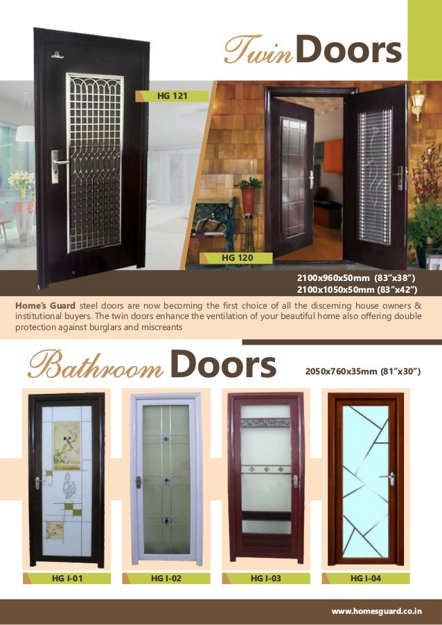 Security and Bathroom Doors By Home's Guard Slide 3
