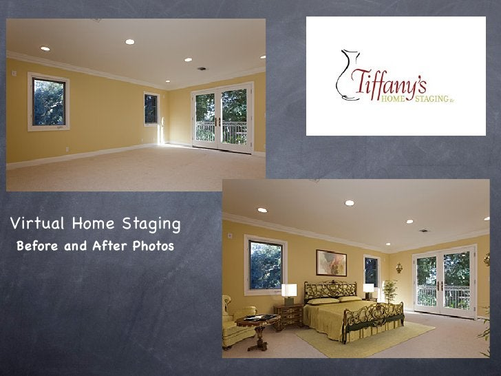 Virtual Home Staging Before and After Photos