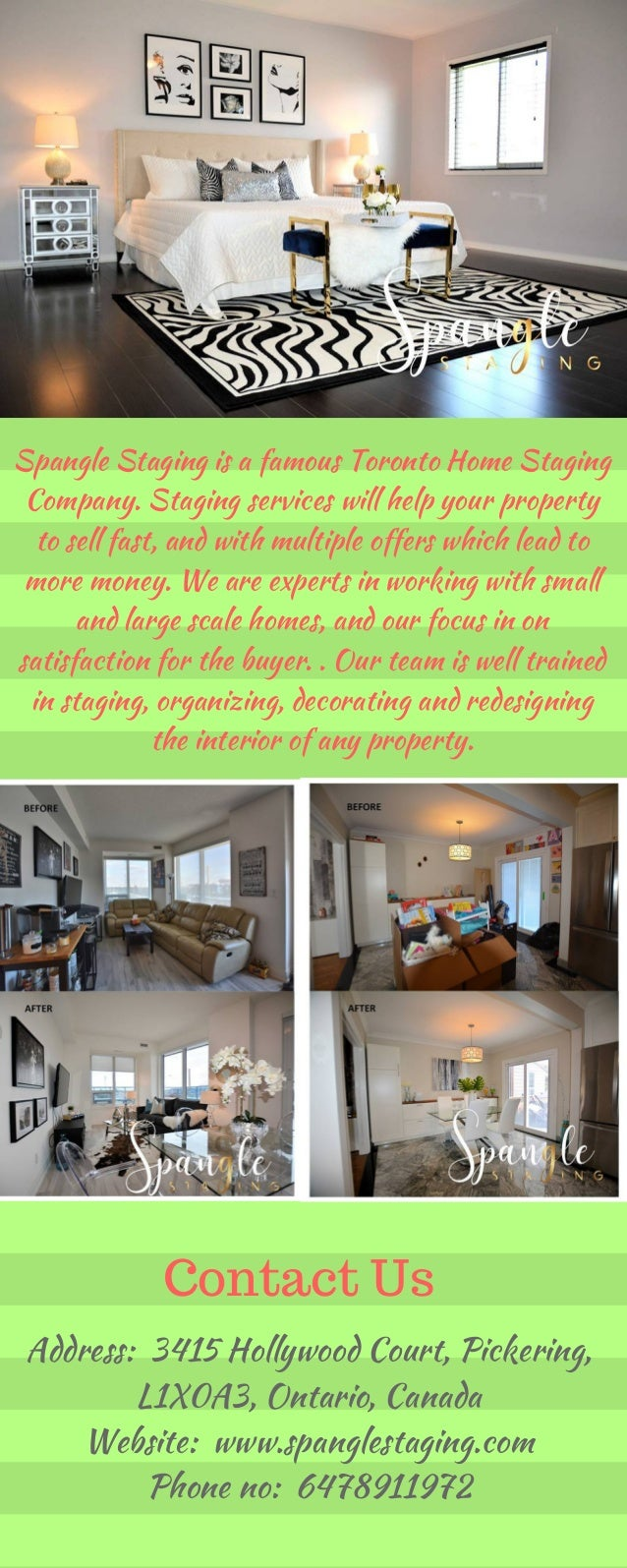 Hire Home staging companies in toronto