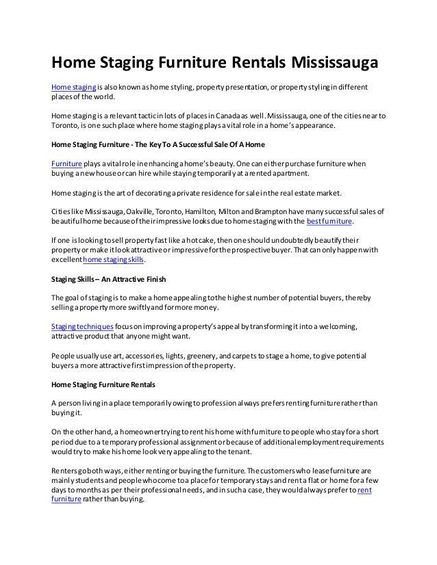 Home Staging Furniture Rentals Mississauga Home Stagingis Alsoknownas Home  Styling,propertypresentation,orpropertystylingi.