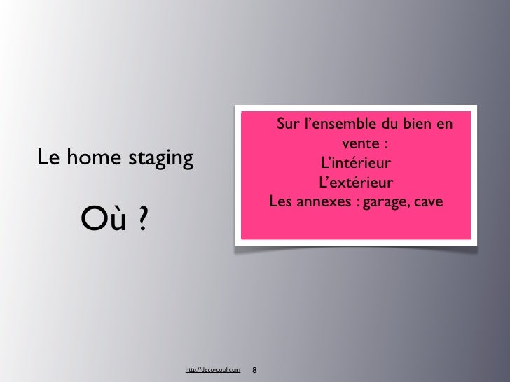 home staging conseils pour vendre appartement. Black Bedroom Furniture Sets. Home Design Ideas